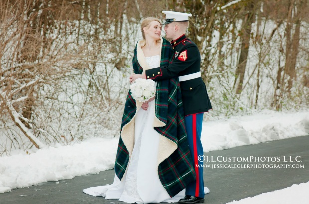 Aubrey Zach Winter Wedding a