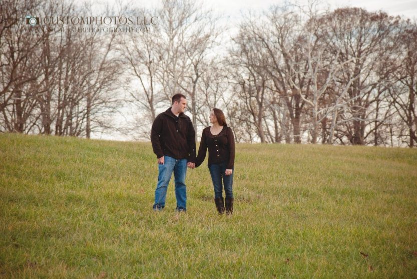 Marr 11 Marr Engagement Greenfeild Indiana IN 46140 Indianapolis Outdoor Fall wedding Custom Photography Photographer J.L. Custom photos J.L.CustomPhotos Jessica Legler Green Ring Bride Groom Portraits sunrise sunset