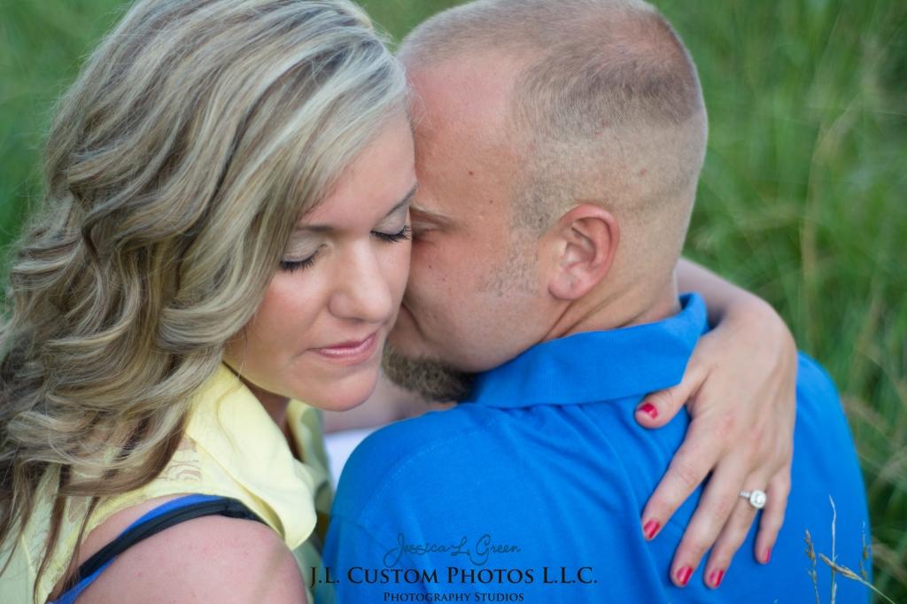 Greenfield Indiana Engagement Wedding Photographer Photography Photos Portraits Session JL Custom Photos J.L.CustomPhotos Jessica Green Jessica Legler Farm Harley Tractor Barn-4