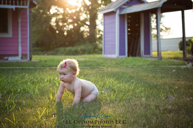 J.L.CustomPhotos Greenfield, IN Indiana 46140 Baby One Year Old Photographer Cake Smash Pink Tutu American Flag Family Jessica Green Photography-25