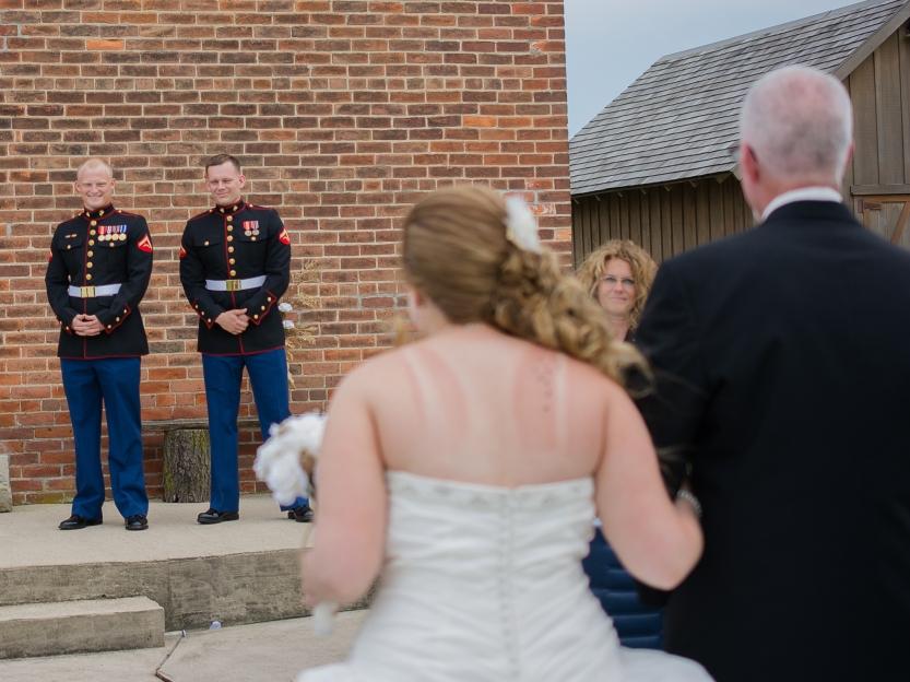Greenfield, IN Wedding Photographer J.L.CustomPhotos Jessica Green Photography Rustic School House DIY Bride Groom Lace Burlap Vintage-39