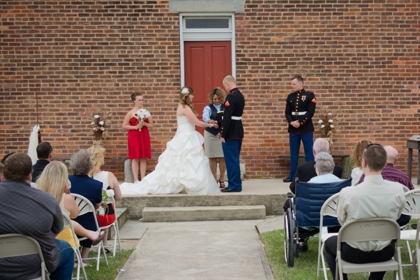 Greenfield, IN Wedding Photographer J.L.CustomPhotos Jessica Green Photography Rustic School House DIY Bride Groom Lace Burlap Vintage-42