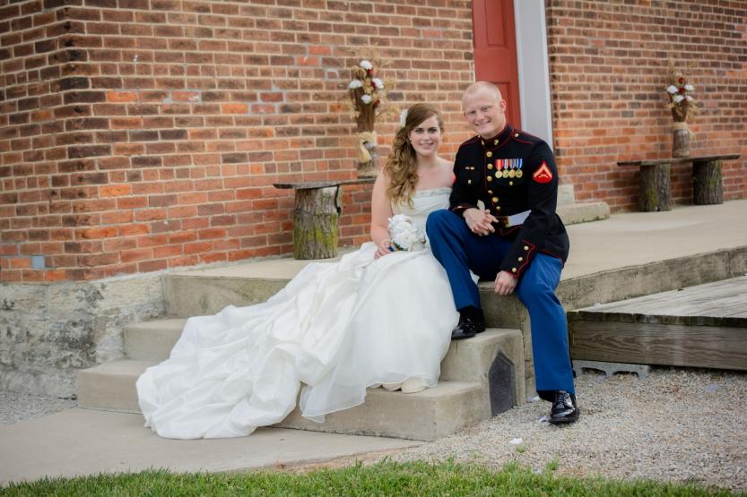 Greenfield, IN Wedding Photographer J.L.CustomPhotos Jessica Green Photography Rustic School House DIY Bride Groom Lace Burlap Vintage-45