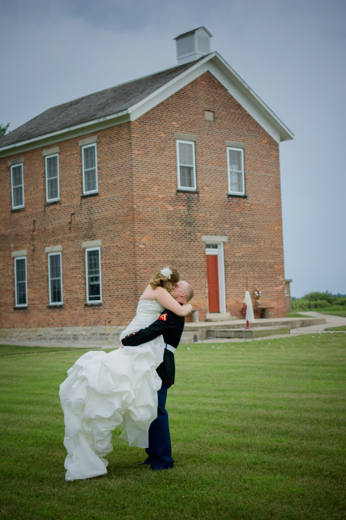 Greenfield, IN Wedding Photographer J.L.CustomPhotos Jessica Green Photography Rustic School House DIY Bride Groom Lace Burlap Vintage-54