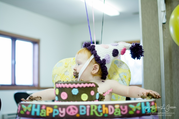 greenfield, IN, Indiana, Child, Photography, Photographer, J.L.CustomPhotos, Jessica, Green, Legler, Photographer, Birthday, One, Cake Smash-17