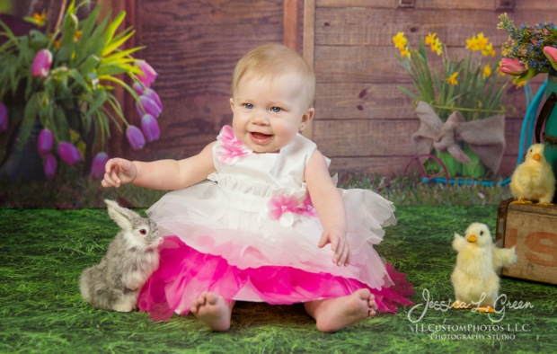 Greenfield, Photographer, J.L.CustomPhotos, Child, Baby girl, Indiana, six month, easter, portraits, Shelbyville, Knightstown-2-2