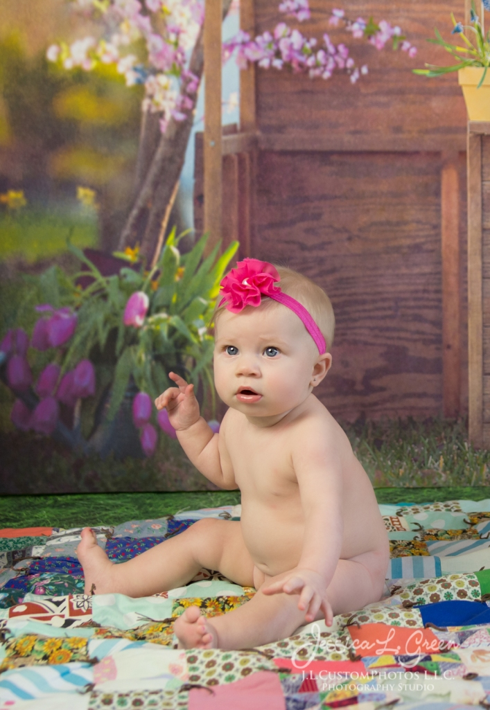 Greenfield, Photographer, J.L.CustomPhotos, Child, Baby girl, Indiana, six month, easter, portraits, Shelbyville, Knightstown-2-3