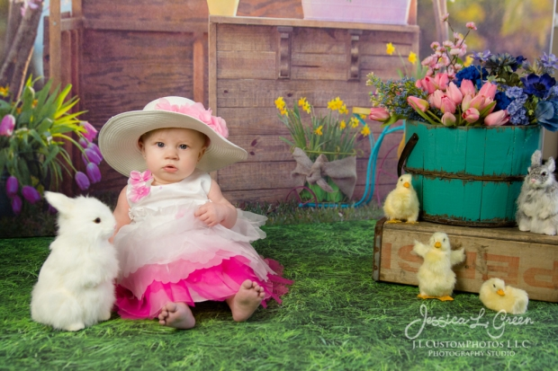 Greenfield, Photographer, J.L.CustomPhotos, Child, Baby girl, Indiana, six month, easter, portraits, Shelbyville, Knightstown-6867