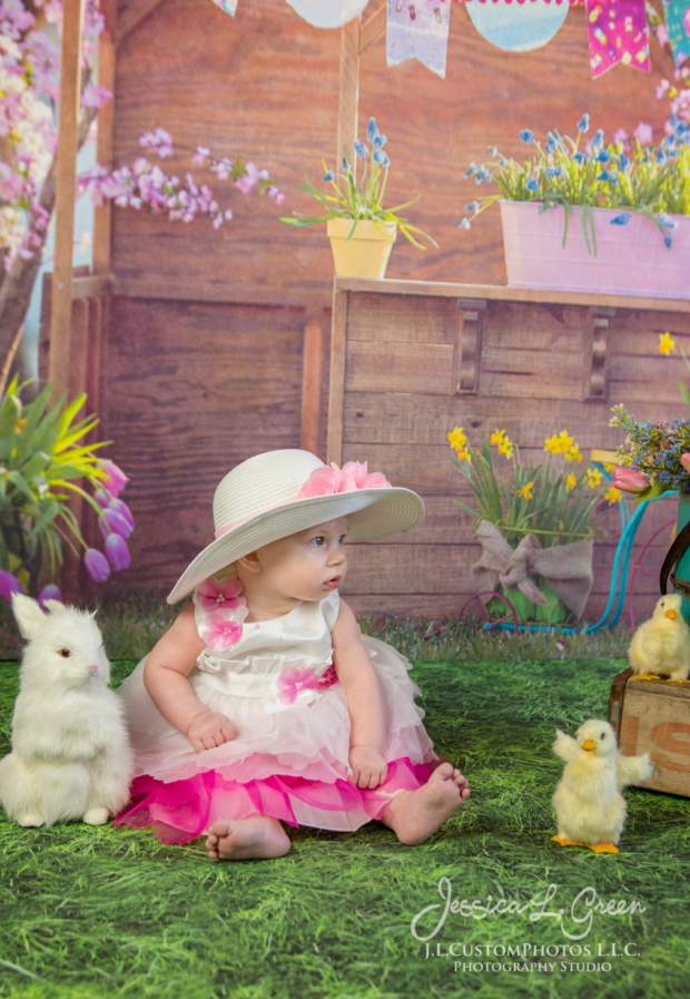 Greenfield, Photographer, J.L.CustomPhotos, Child, Baby girl, Indiana, six month, easter, portraits, Shelbyville, Knightstown-6881