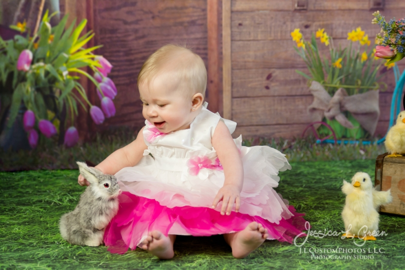 Greenfield, Photographer, J.L.CustomPhotos, Child, Baby girl, Indiana, six month, easter, portraits, Shelbyville, Knightstown-6919