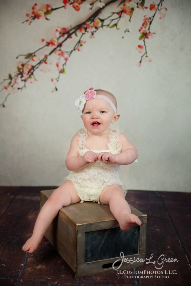 Greenfield, Photographer, J.L.CustomPhotos, Child, Cake Smash, Baby girl, Indiana, one year, portraits-2-3