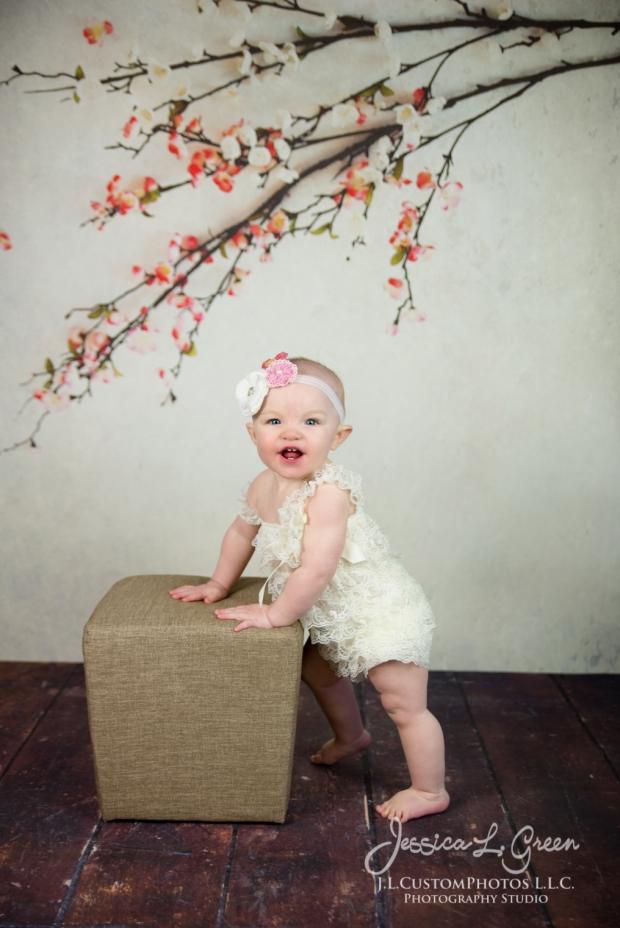 Greenfield, Photographer, J.L.CustomPhotos, Child, Cake Smash, Baby girl, Indiana, one year, portraits-2976