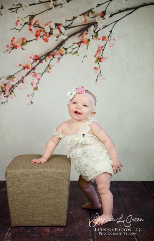 Greenfield, Photographer, J.L.CustomPhotos, Child, Cake Smash, Baby girl, Indiana, one year, portraits-2982