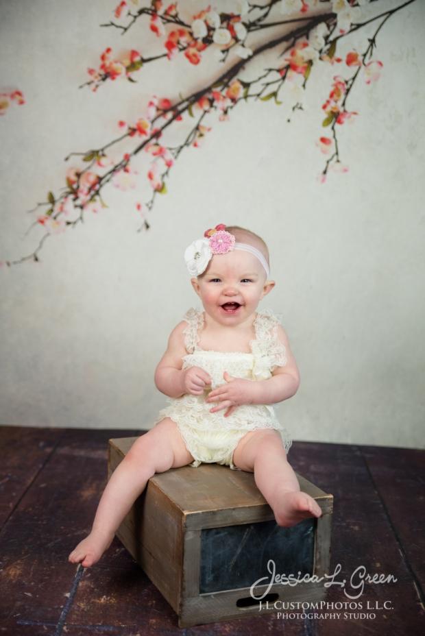 Greenfield, Photographer, J.L.CustomPhotos, Child, Cake Smash, Baby girl, Indiana, one year, portraits-3007