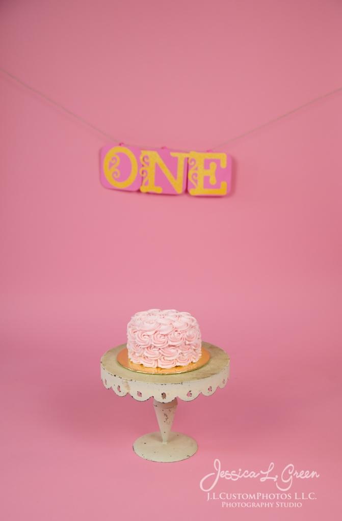 Greenfield, Photographer, J.L.CustomPhotos, Child, Cake Smash, Baby girl, Indiana, one year, portraits-3037