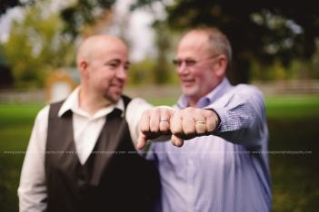 Greenfield, Indiana, Photography, Photographer, Photos, Jessica, Green, Anderson, IN, JLCustomPhotos, Photos, Jessica Green, Legler, Jessica Legler, Jessica Green Photography, 46140, Central Indiana, Indianapolis,Groom,Father,Rings,Outdoor,Fall,Wedding