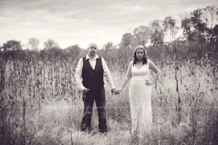 Greenfield, Indiana, Photography, Photographer, Photos, Jessica, Green, Anderson, IN, JLCustomPhotos, Photos, Bride, Groom, Jessica Green, Legler, Jessica Legler, Jessica Green Photography, 46140, Central Indiana, Indianapolis,Outdoor,Field,Fall,Wedding,Bride,Groom,Love,Dress,Lace,Couple