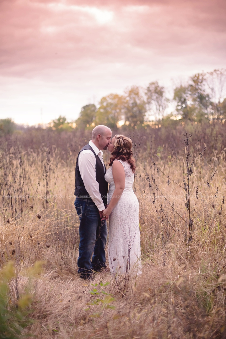 Plank Wedding {Anderson, IN}    Greenfield, Indiana Wedding Photographer; Jessica Green PhotographyLLC