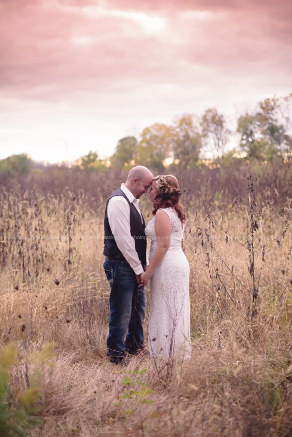 Greenfield, Indiana, Photography, Photographer, Photos, Jessica, Green, Anderson, IN, JLCustomPhotos, Photos, Bride, Groom, Jessica Green, Legler, Jessica Legler, Jessica Green Photography, 46140, Central Indiana, Indianapolis,Outdoor,Field,Fall,Wedding,Bride,Groom,Love,Dress,Lace