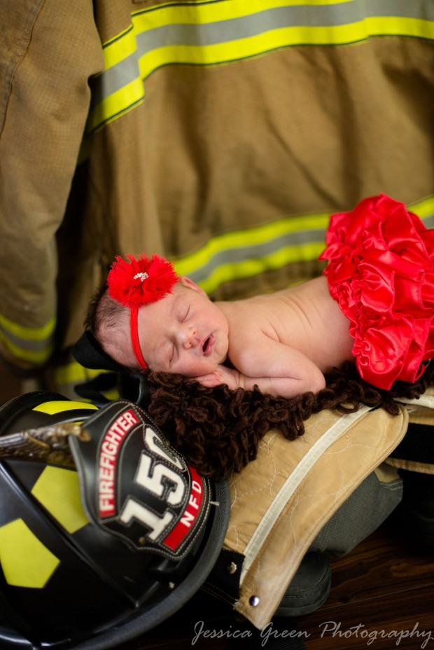 Greenfield, Indiana, Photography, Photographer, Photos, Jessica, Green, Greenfield, IN, JLCustom Photography, Jessica Green, Legler, Jessica Legler, Jessica Green Photography, 46140, Central Indiana, Indianapolis, Newborn , Firefighter , Red , Sleeping , Headband , Calm