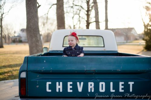 Greenfield, Indiana, Photography, Photographer, Photos, Jessica, Green, Greenfield, IN, JLCustom Photography, Jessica Green, Legler, Jessica Legler, Jessica Green Photography, 46140, Central Indiana, Indianapolis,Outdoor,Fall,Truck,Girl,Baby,Bow,Happiness