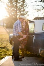 Greenfield, Indiana, Photography, Photographer, Photos, Jessica, Green, Greenfield, IN, JLCustom Photography, Jessica Green, Legler, Jessica Legler, Jessica Green Photography, 46140, Central Indiana, Indianapolis,Outdoor,Fall,Sunset,Truck,Couple,Engagement,Plaid,Boots,smiles