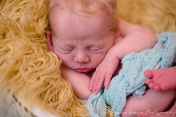 Greenfield, Indiana, Photography, Photographer, Photos, Jessica, Green, Greenfield, IN, JLCustom Photography, Jessica Green, Legler, Jessica Legler, Jessica Green Photography, 46140, Central Indiana, Indianapolis, Newborn , Son , Happy , Skin , Soft , Lips , Features , Red Hair , Sleeping , Blanket , Peaceful