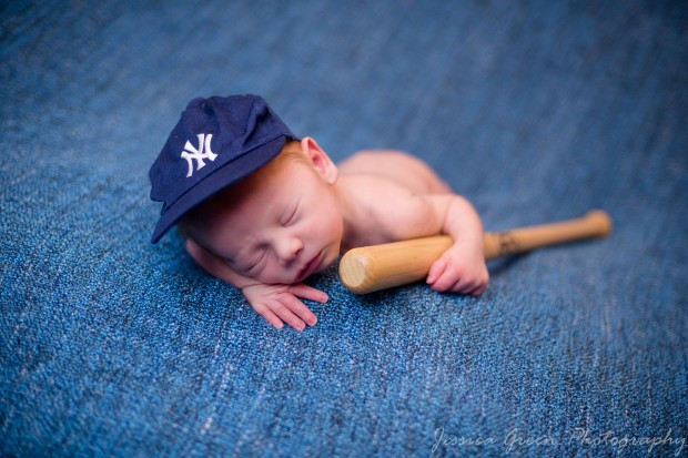 Greenfield, Indiana, Photography, Photographer, Photos, Jessica, Green, Greenfield, IN, JLCustom Photography, Jessica Green, Legler, Jessica Legler, Jessica Green Photography, 46140, Central Indiana, Indianapolis, Newborn , Son , Sleeping , Skin , Soft , Lips , Features , Red Hair , Baseball