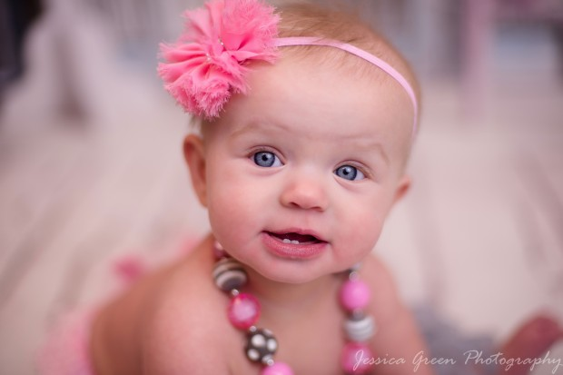 Greenfield, Indiana, Photography, Photographer, Photos, Jessica, Green, Greenfield, IN, JLCustom Photography, Jessica Green, Legler, Jessica Legler, Jessica Green Photography, 46140, Central Indiana, Indianapolis, Little girl , Happy , Tutu , Bow , Blue eyes , Beautiful , Chunky Necklace